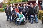 Gruppenbild von der Angelfreizeit Schweden 2013