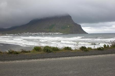Foto der Vulkaninsel Island