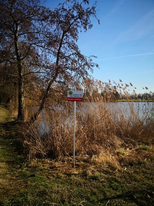 Foto 2 von den aufgestellten Schildern©ASV Liebenau