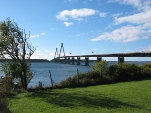 Foto von der Brücke in Dänemark